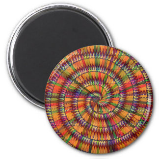 NOVINO KoolSHADES Chakra Mandala Designs HEALING Refrigerator Magnet