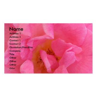 NOVINO - Sensual Pink Petal 3 Business Card