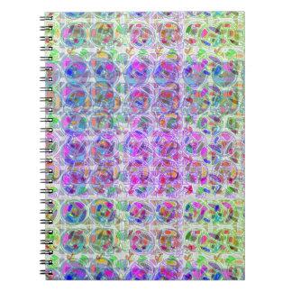 NOVINO Texture Pattern Meet Greet Gifts  doonagiri Note Book