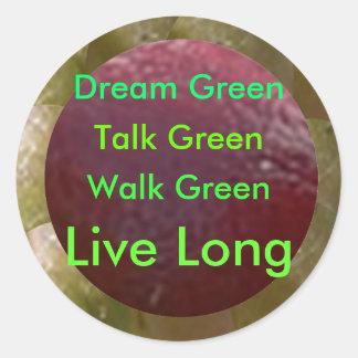 NOVINO  .. Think GREEN ThinkGREEN Sticker