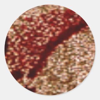 NOVINO Zazzling Golden Leaf Stickers