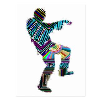 NOVINO Zombi Dance Season 2012 Postcard