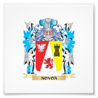 Novoa Coat of Arms - Family Crest Photo