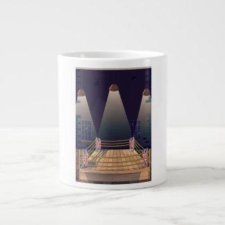 Novosibirsk Siberia soviet union flight poster Large Coffee Mug