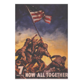 Now All Together-US Marines Posters