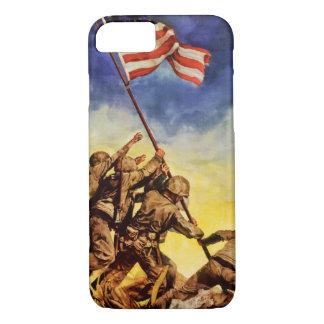 Now all together Vintage War Poster Restored iPhone 8/7 Case