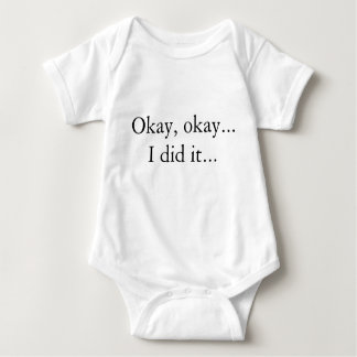 Now Change Me One-piece baby bodysuit