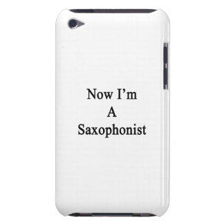 Now I'm A Saxophonist iPod Case-Mate Case