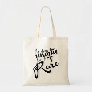 Now I'm Rare tote bag