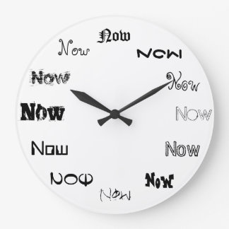 Now is The Time Wallclocks