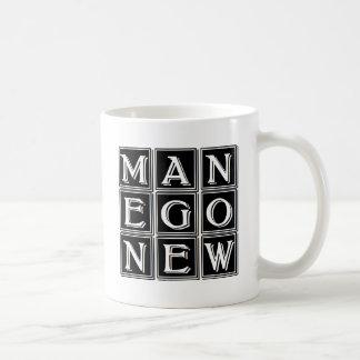 Now new man coffee mug