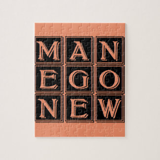 Now new man jigsaw puzzle