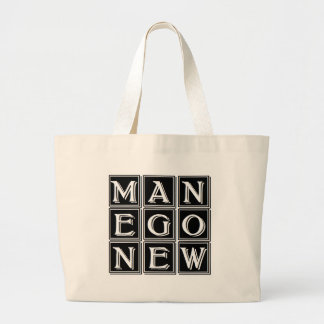 Now new man large tote bag