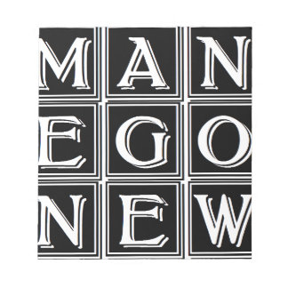Now new man notepads