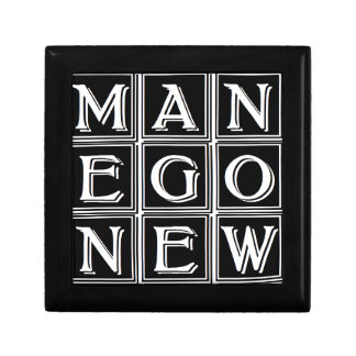 Now new man small square gift box