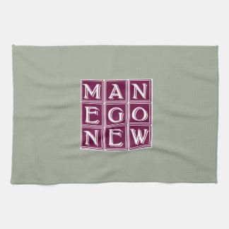 Now new man tea towel