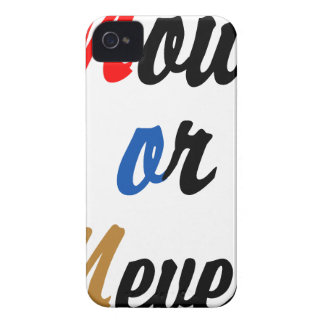 Now or Never iPhone 4 Covers