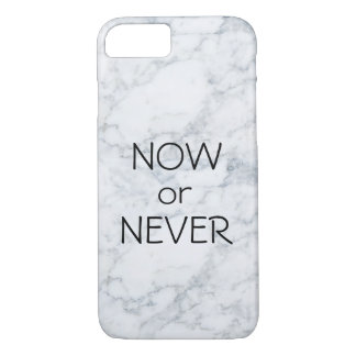 Now or Never iPhone 8/7 Case
