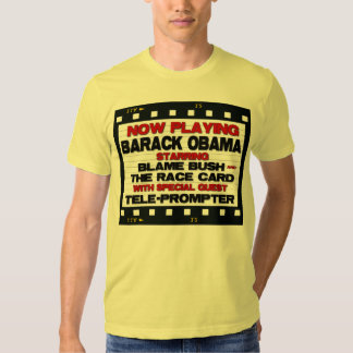 Now Playing  - Anti Barack Obama Tee Shirts