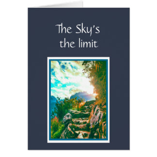 Now that You've Graduated The sky's the Limit Card