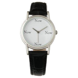 Now watch clock simple design classic black COOL