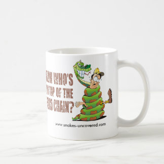 Now who's on top of the food chain coffee mug