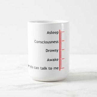 Now you can talk to me basic white mug