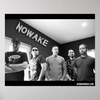 NOWAKE Lineup Poster