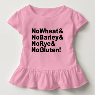NoWheat&NoBarley&NoRye&NoGluten! (blk) Toddler T-Shirt