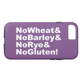 NoWheat&NoBarley&NoRye&NoGluten! (wht) iPhone 8/7 Case