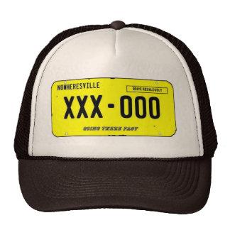 """""""Nowheresville"""" Mesh Hats"""