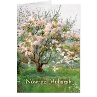 Nowruz Mubarak. Persian New Year Custom Cards