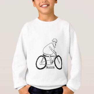 Nozza goes cycling sweatshirt