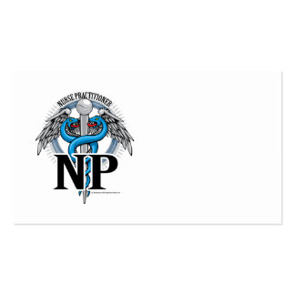 NP Blue Caduceus Pack Of Standard Business Cards