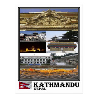 NP Nepal - Kathmandu - Postcard