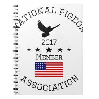 NPA Member Logowear Spiral Notebook