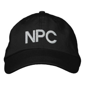 NPC EMBROIDERED CAP