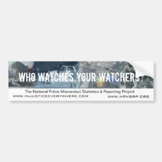 NPMSRP Watchers Bumper Sticker