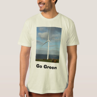 npower_windfarm_hires, Go Green T-Shirt