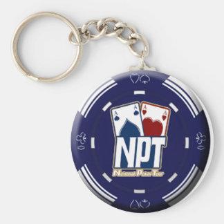 NPT Chip Design Keychain