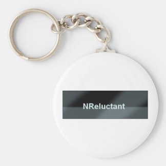 NReluctant Button 1 Key Chains
