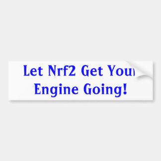 Nrf2 Bumper Sticker