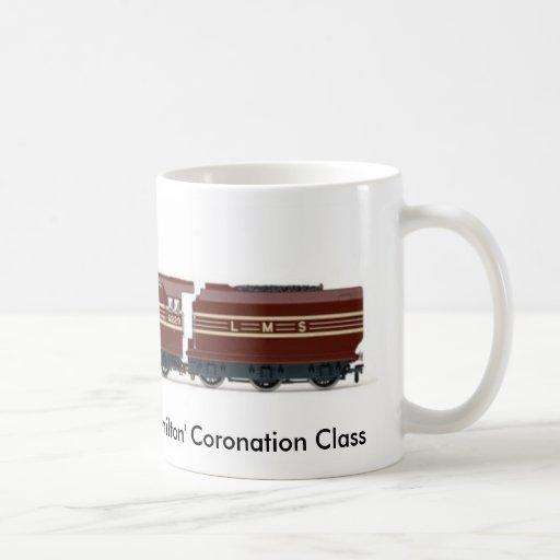 NRM 4-6-2 'Duchess of Hamilton' Coronation Class Coffee Mugs