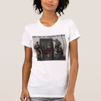 NSA: Yes, we can hear you now. Tees