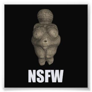 NSFW Prehistoric Venus Figurine Photographic Print