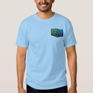 NTA Small Logo Blue Shirts
