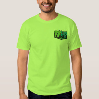 NTA Small Logo Green Tee Shirt