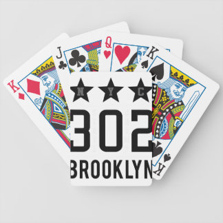 NTh brooklyn Bicycle Playing Cards