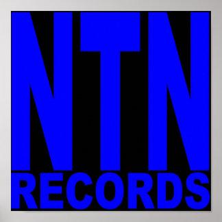 NTN Records Poster