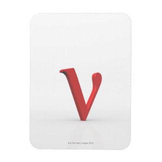 Nu 2 rectangle magnet